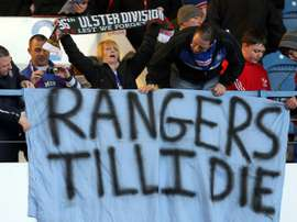 Rangers' win against Dundee has reduced their gap with league leaders Celtic to 11 points. AFP