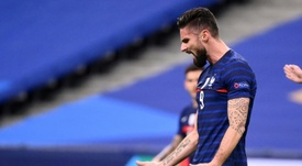 Giroud wants to be at Euro 2020. AFP