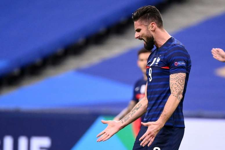 Giroud: I'm used to being heckled. AFP