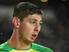 Emiliano Sala has scored 12 league goals for French club Nantes this season. AFP