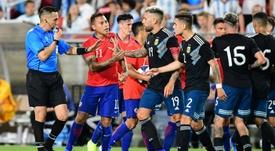 El Euskadi-Argentina fue cancelado. AFP