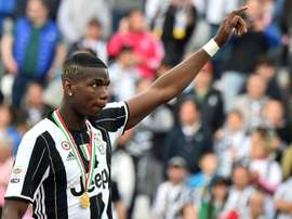 Rabiot, Ramsey et 130 millones pour Pogba. AFP