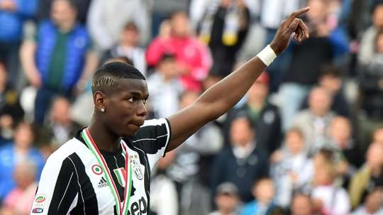 Pogba could return to Turin on an initial loan. AFP