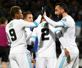 Red-hot Marseille score nine in Cup thrashing. AFP