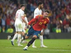 España, clara favorita ante Bosnia. AFP