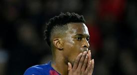 Semedo open's possibilities for Barcelona. AFP