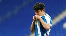 Wu Lei sigue siendo una de las sensaciones del fútbol chino. AFP