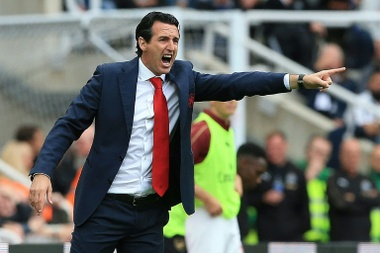 Emery is a fan of his new environment. AFP