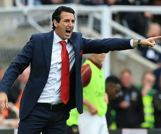 Emery is back. AFP