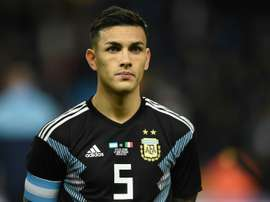 The French club announced Paredes' signing on Tuesday. AFP