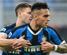Inter want to renew his contract. AFP