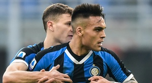L'Inter travaille sur la prolongation de Lautaro. AFP