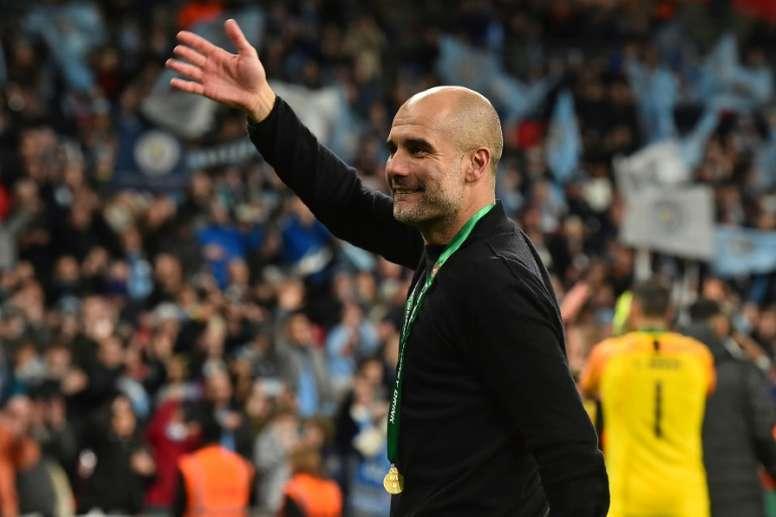 O mega contrato que o City prepara para Guardiola. AFP