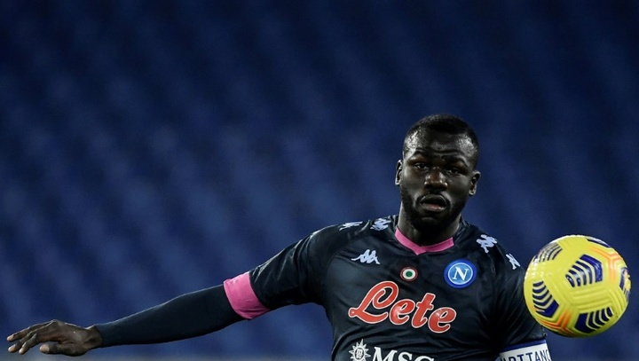 PSG are interested in Koulibaly. AFP