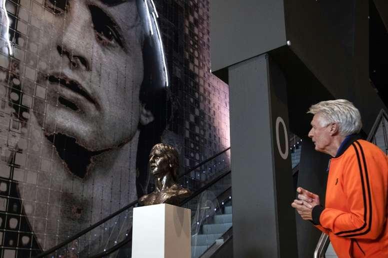 Dutch 70s legend Wim Suurbier dies, aged 75. AFP