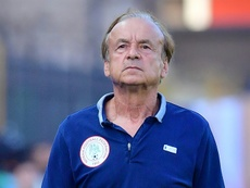 Coach Rohr vows to make Nigeria champions of Africa again. AFP