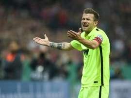 Augsburgo y Eintracht firmaron tablas. AFP
