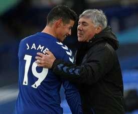 James is back. AFP