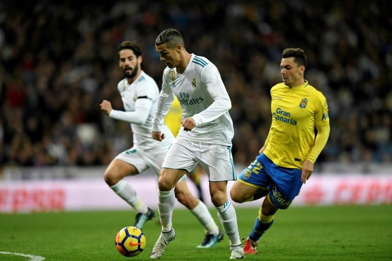 Real Madrid gana 3-0 a Las Palmas sin titulares