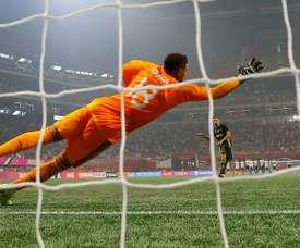 La Juventus no falló ninguno de sus lanzamientos de penalti. AFP