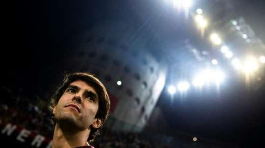 Kaká essaiera de convaincre Paquetá de rejoindre Milan. AFP