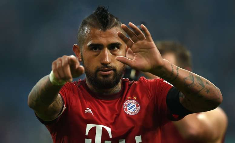 Vidal tendrá que ser intervenido de la rodilla. AFP