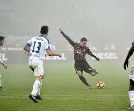 Bonaventura abrió el marcador, pero cayó lesionado a la media hora. AFP/Archivo
