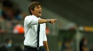 Antonio Conte évoque l'importance de Vidal. AFP