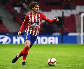 Antoine Griezmann is going to leave Atletico in the summer. AFP