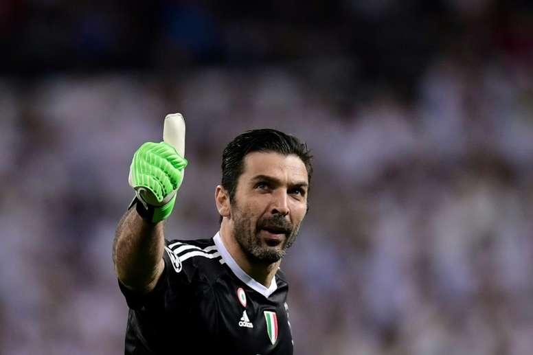 Buffon, a pocos días de fichar por el PSG. AFP