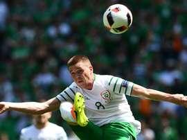Operado con éxito el irlandés. AFP
