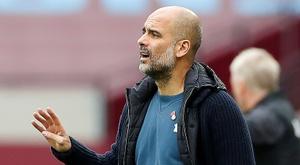 City songe à l'après-Guardiola. AFP