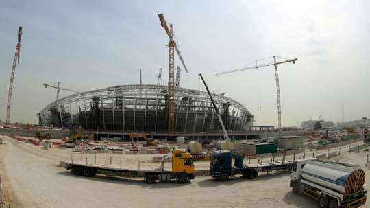 The Al Wakrah Stadium, one of the proposed venues for Qatar 2022. AFP