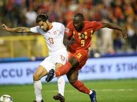 Lukaku has been in excellent international form of late. AFP