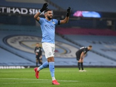 African players in Europe: Mahrez ends five-year wait for hat-trick. AFP