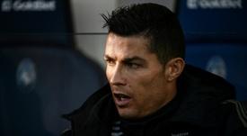 Outro troféu para a vitrina de Cristiano Ronaldo. AFP