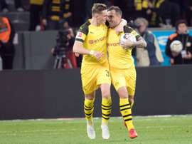 Dortmund are now top of the Bundesliga. AFP
