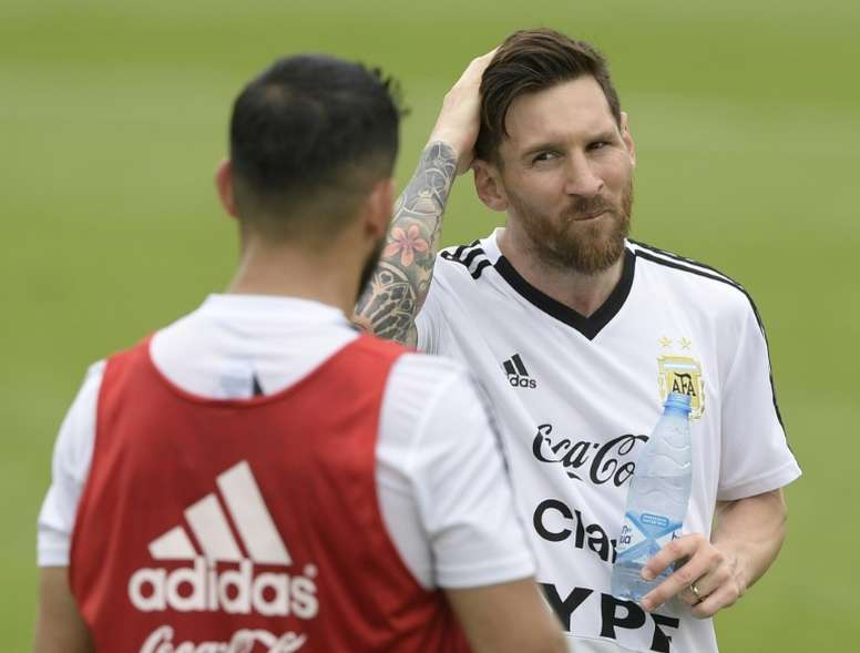 Messi will be appearing at his fourth World Cup. AFP