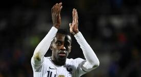 Blaise Matuidi ne tire pas un trait sur l'équipe de France. AFP