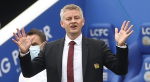 Solskjaer says he was impressed by his team's performance. AFP