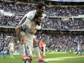 Convocados do Real Madrid. AFP