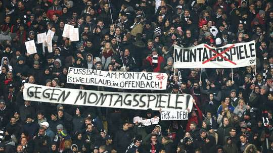 Monday night matches will be scrapped in the Bundesliga from the 2021/22 season. AFP