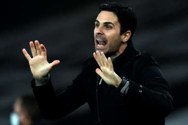 Arsenal manager Mikel Arteta wants the player.AFP