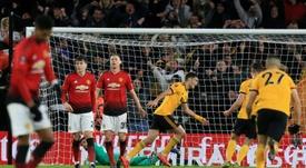 Los Wolves prueban a un United crecido. AFP