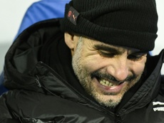 Guardiola to stick with City despite ban. AFP