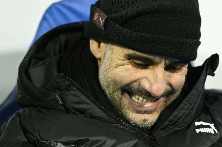 Guardiola to stick with City despite ban. AFP