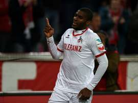Anthony Modeste ha vuelto a Alemania. AFP/Archivo