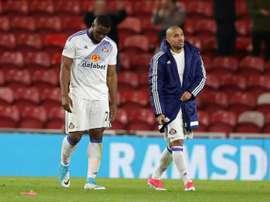 El ex del Sunderland denunció a su actual equipo chino ante la FIFA. AFP