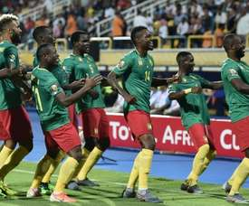 Cameroon were victorious in their opening game of the competition. AFP