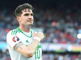 Lafferty has been recalled by Northern Ireland after apologising for his actions. AFP